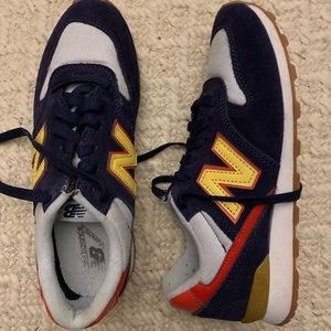 New balance for J. crew suede sneakers